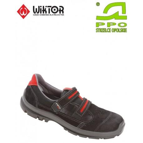Sandały bezpieczne z podnoskiem kompozytowym i niemetalową wkładką antyprzebiciową - MODEL 501