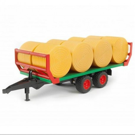 Przyczepa transportowa bel słomy ® - BRUDER 02220
