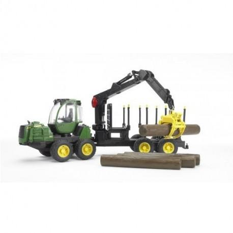 Maszyna leśna John Deere 1210E ® - BRUDER 02133