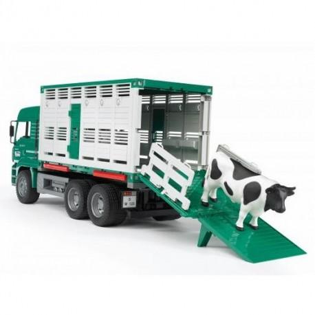 Ciężarówka do transportu zwierząt ® BRUDER 02749