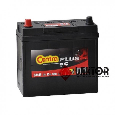Centra Plus 12V 45Ah EN 300A CB455