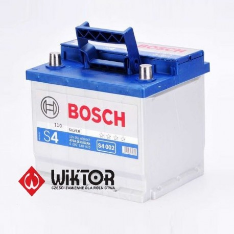 Bosch S4 12V 52Ah EN470A