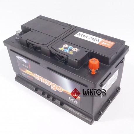 ENERGO 12V 80Ah EN740A 0.185.858.006