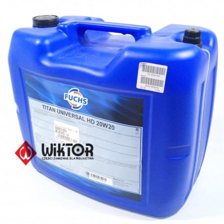Olej silnikowy FUCHS Universal HD 20w20